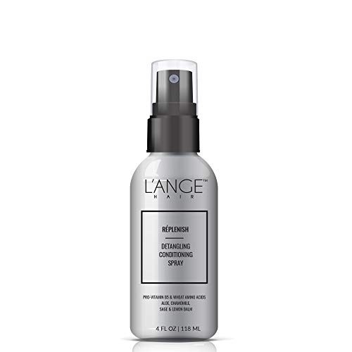 L'ANGE HAIR - L'ANGE Replenish Conditioning Spray - Provitamin B5 & Wheat Amino Acids - Color Safe Leave in Detangler for All Hair Types - Paraben Free UV Protectant - Salon Grade Care - 4 Fl oz