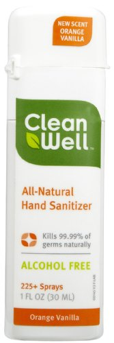 Cleanwell - Hand Sanitizer, Orange Vanilla