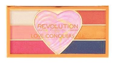 Makeup Revolution - Love Conquers All Pigment & Highlighter Palette