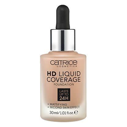 Catrice - Catrice | HD Liquid Foundation - High & Natural Coverage | Vegan | 040 Warm Beige