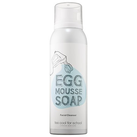Too Cool for School - Egg Mousse Soap Facial Cleanser