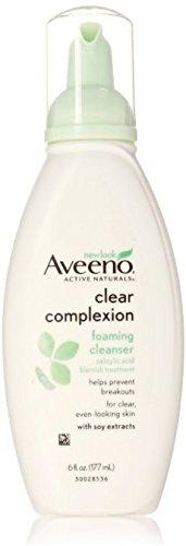 Aveeno Aveeno Clear Complexion Foaming Facial Cleanser, 6 Fl. oz.