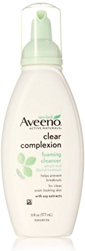 Aveeno - Aveeno Clear Complexion Foaming Facial Cleanser, 6 Fl. oz.