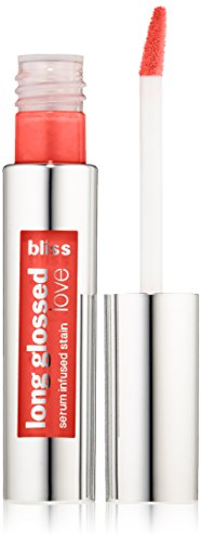 Bliss - Long Glossed Love Serum Infused Stain, Molten Guava