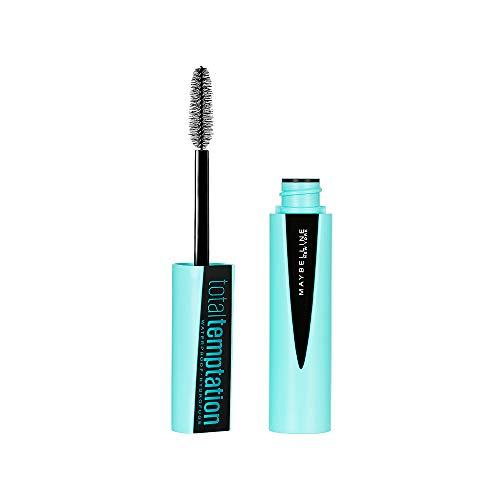 Maybelline New York - Maybelline Makeup Total Temptation Waterproof Mascara, Waterproof Mascara, Very Black, 0.3 fl oz