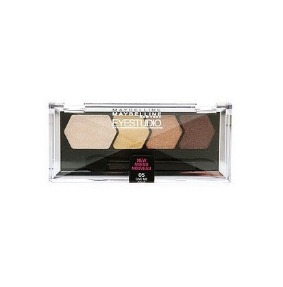 Maybelline New York - Maybelline EyeStudio Color Plush Silk Eyeshadow Quad, Give Me Gold