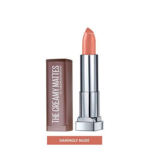 Maybelline New York - Color Sensational Nude Lipstick Matte Lipstick, Daringly Nude