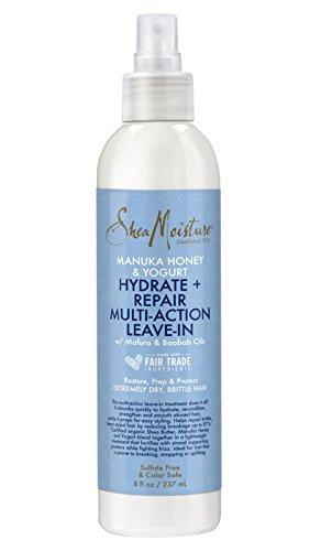 Shea Moisture - Shea Moisture Manuka Honey & Yogurt Hydrate + Repair Multi-Action Leave-In, 8 fl oz