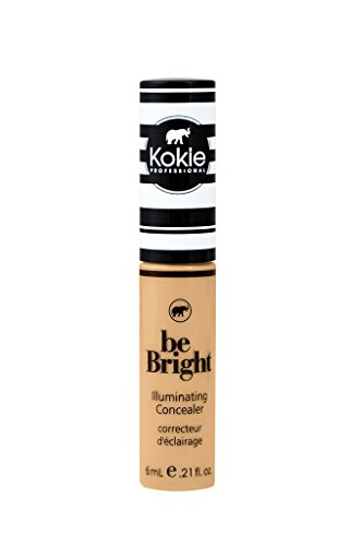 Kokie Cosmetics - Kokie Cosmetics Be Bright - Concealor and Color Correctors, Medium Beige, 0.21 Fluid Ounce