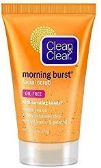 Clean & Clear - Clean & Clear Morning Burst Facial Scrub Travel Size 1 Oz. (4 Pack)
