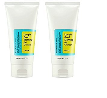 COSRX COSRX Low Ph Good Morning Gel Cleanser 150ml, 2 Pack - Oil Control, Deep Cleansing, Skin Refreshening