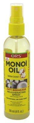 ORS Black Olive Oil - ORS Monoi Oil Rejuvenating Spray, 4 Ounce