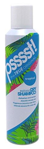 Psssst - Psssst Shampoo Instant Dry Spray 5.3oz Tropical
