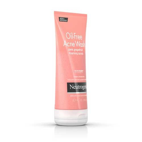 Neutrogena - Oil Free Acne Wash Pink Grapefruit Foaming Scrub
