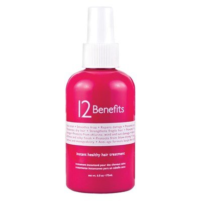 12 Benefits - Instant Healthy Hair Treatment by 12 Benefits Size: 6 Ounce Label May Vary