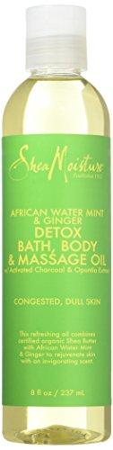 Shea Moisture - African Water Mint & Ginger Detox Bath-Body & Massage Oil