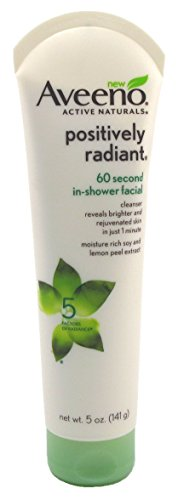 Aveeno - Aveeno Positively Radiant 60-SeConditioner In Shower Facial 5 Ounce (147ml) (3 Pack)