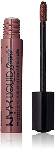 NYX - Liquid Suede Cream Lipstick, Brooklyn Thorn