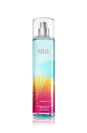 Bath & Body Works - Bath & Body Works MALIBU Heat Fine Fragrance Mist 8 oz (236 ML)