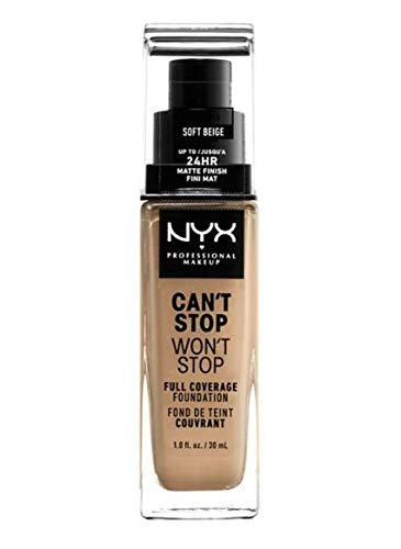 NYX - Can't Stop Won't Stop 24-Hour Foundation