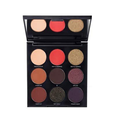 Morphe cosmetics - Authentic 9N About Last Night Artistry Palette, small but terrible pigments!