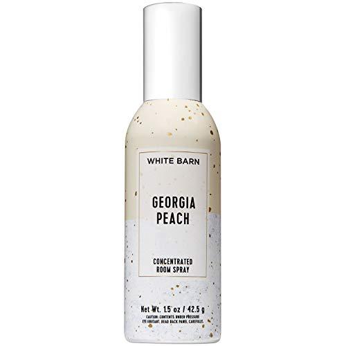 Bath & Body Works - Bath and Body Works Georgia Peach Concentrated Room Spray 1.5 Ounce (2019 Spring Edition, White Barn Label)