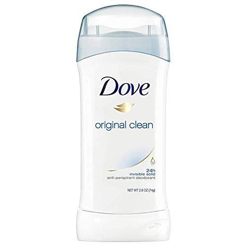 Dove - Dove Invs Sold Original Size 2.6z Dove Original Clean Invisible Solid Antiperspirant Deodorant