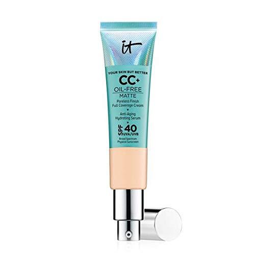 It Cosmetics - It Cosmetics Your Skin But Better CC+ Cream Oil-Free Matte with SPF 40 -Medium