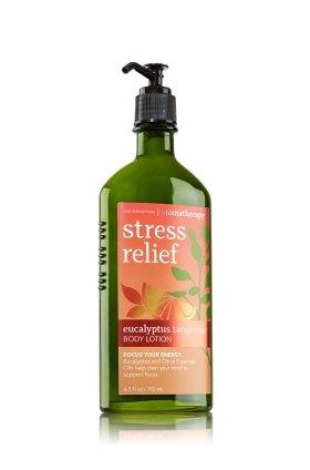 Bath & Body Works Aromatherapy Stress Relief Eucalyptus Tangerine Body Lotion