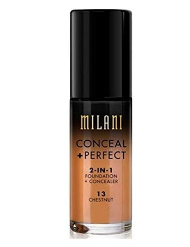 Milani - MILANI Conceal + Perfect 2-In-1 Foundation + Concealer – Chestnut