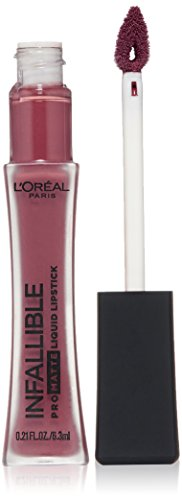 L'Oreal Paris L'Oreal Paris Makeup Infallible Pro-Matte High Pigment, Long Wear Liquid Lipstick, 362 Plum Bum, 0.21 fl. oz.