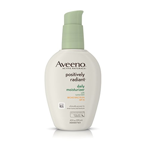 Aveeno Positively Radiant Daily Moisturizer With Spf 15