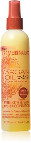 Creme of Nature - Creme Of Nature Argan Oil Conditioner Leave-In 8.45 Ounce (249ml) (3 Pack)