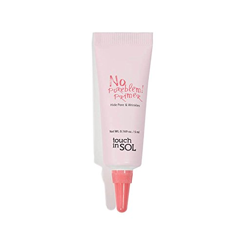 Touch in Sol - touch in SOL No Poreblem! Primer - Pore Minimizing Foundation Primer - 0.169 oz Travel Size