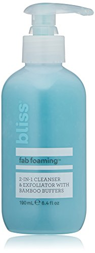 bliss - Fab Foaming 2-In-1 Cleanser & Exfoliator with Bamboo Buffers