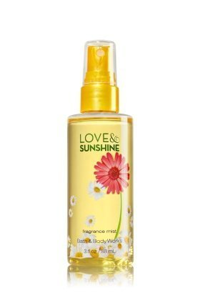Bath & Body Works - Signature Mist Love and Sunshine