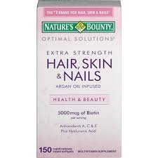 Nature's Bounty - Nature's Bounty, Extra Strength Hair, Skin and Nails -150 Rapid release Softgels