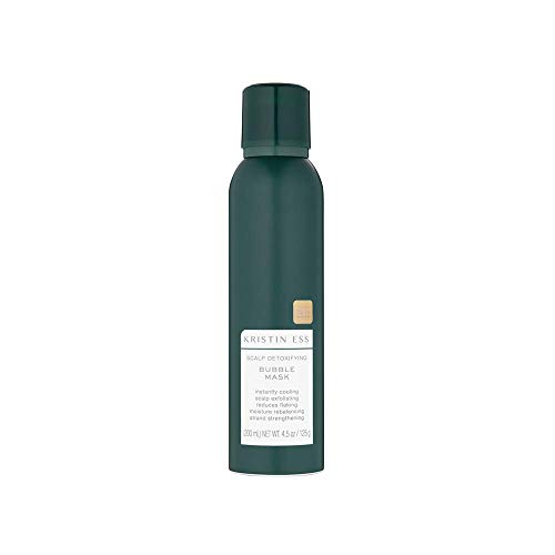 Kristin Ess Kristin Ess Scalp Detoxifying Bubble Mask, Pre-Shampoo Foaming Scalp Treatment, 4.5 Ounces