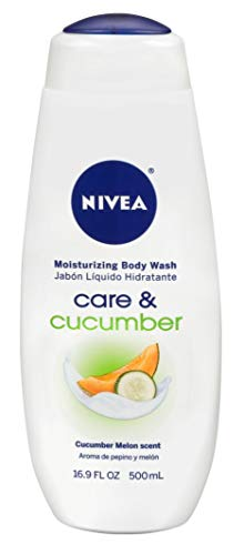 Nivea - Nivea Body Wash Care And Cucumber 16.9 Ounce (500ml) (2 Pack)