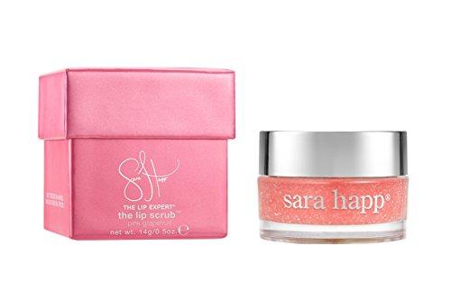 sara happ - sara happ The Lip Scrub, Pink Grapefruit, 0.5 oz.