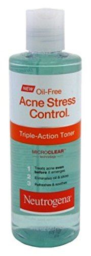 Neutrogena - Neutrogena Oil-Free Acne Stress Control Triple-Action Toner, 8 Fluid Ounce (Pack of 2)