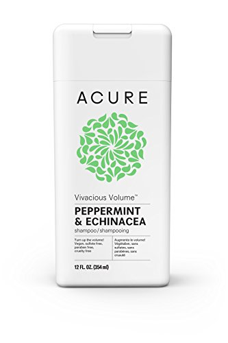 Acure - ACURE Vivacious Volume Peppermint Shampoo, 12 Fl. Oz. (Packaging May Vary)
