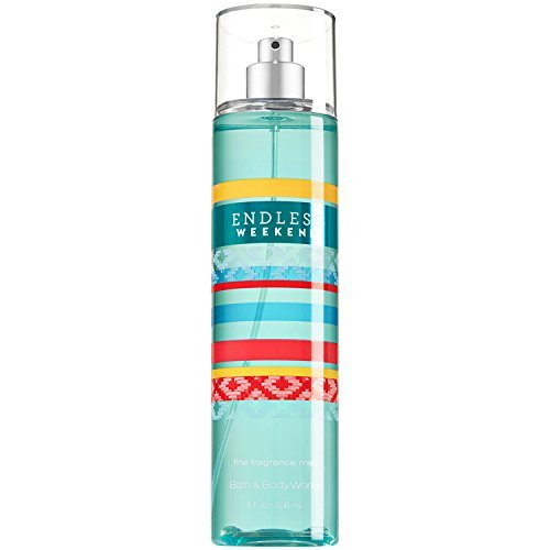 Bath & Body Works - Bath & Body Works Fine Fragrance Mist for Women, Endless Weekend, 8 Ounce