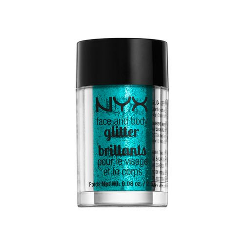 NYX - NYX glitter brillants for face and body (#COLOR - GLI03 TEAL/ SARCELLE)