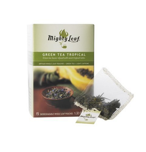 Mighty Leaf Tea Mighty Leaf Tea Tropical Green Tea, 1.32 Ounce