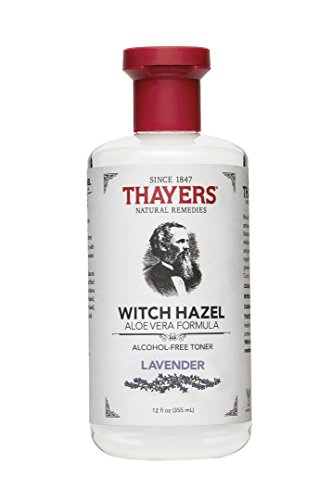 THAYERS Thayers Alcohol-Free Witch Hazel with Organic Aloe Vera Formula Toner, Lavender 12 oz