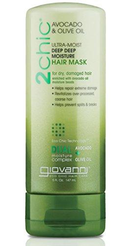 GIOVANNI - Giovanni 2chic Avocado and Olive Oil Ultra-Moist Deep Moisture Hair Mask, 5 Fluid Ounce