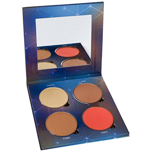 Adept Cosmetics Natural Matte Face and Eye Palette with one Highlight, one bright pop of colour blush or eyeshadow, ​XL magnetic pans, great for contouring, natural highlighting, bronzing, all day eyeshadow