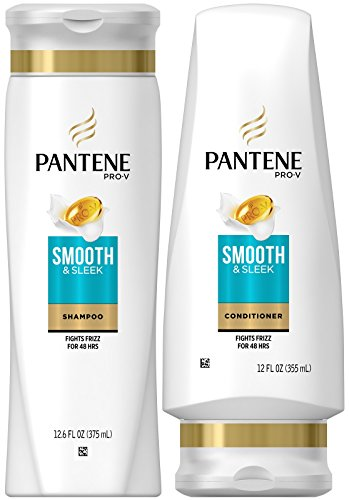 Pantene - Pantene Pro-V DUO Set Shampoo 12.6 Ounce + Conditioner 12 Ounce (Smooth and Sleek)
