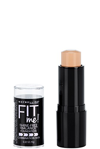 Maybelline New York - Maybelline Fit Me Shine-Free + Balance Stick Foundation, Classic Ivory, 0.32 oz.